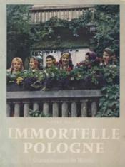 Immortelle pologne - Couverture - Format classique