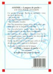 Guide Poche Bresilien - 4ème de couverture - Format classique