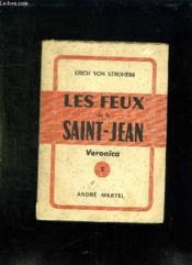 Les Feux De La Saint Jean. Veronica. - Couverture - Format classique