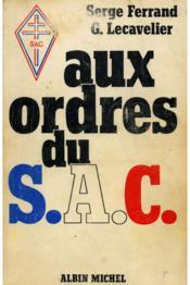 Aux ordres du S.A.C. - Couverture - Format classique