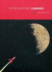 Tintin ; aventures lunaires - Couverture - Format classique