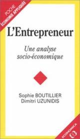 L'entrepreneur - Couverture - Format classique
