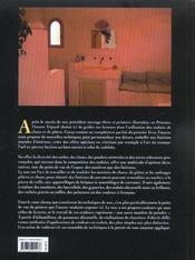 Ocres et finitions a la chaux - 4ème de couverture - Format classique