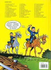 Les tuniques bleues t.42 ; qui veut la peau du général ? - 4ème de couverture - Format classique