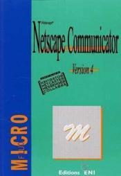 Netscape communicator 4(microfluo) - Couverture - Format classique