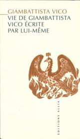 Vie De Giambattista Vico Ecrite Par Lui-Meme - Couverture - Format classique