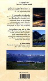 Lacs des Pyrénées t.2 : du val d'Aran à la Méditerranée ; 75 promenades et randonnées - 4ème de couverture - Format classique