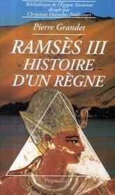 Ramsès III ; histoire d'un règne - Couverture - Format classique