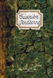 Cuisinière vendéenne - Couverture - Format classique