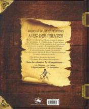 Journal d'une expédition avec des pirates - 4ème de couverture - Format classique