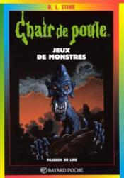 Chair de poule t.36 ; jeux de monstres - Couverture - Format classique