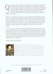 Honni soit qui mal y pense ; ou l'incroyable histoire d'amour entre le francais et l'anglais - 4ème de couverture - Format classique