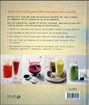 Jus et smoothies super boosters - 4ème de couverture - Format classique