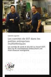 Les comités de SST dans les petites entreprises multiethniques - Couverture - Format classique