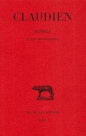Oeuvres t.1 - Couverture - Format classique