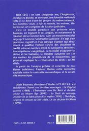 Loi du royaume (la) - 4ème de couverture - Format classique