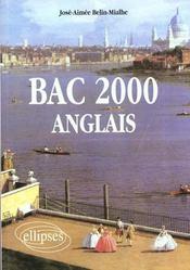 Bac 2000 Anglais - Intérieur - Format classique