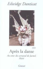 Apres la danse - Couverture - Format classique