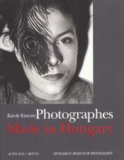 Photographes made in hungary - la photographie hongroise - Intérieur - Format classique