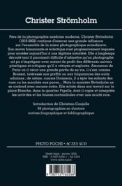 Christer stromholm - photo poche n 106 - 4ème de couverture - Format classique