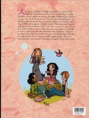 Le journal de Carmilla t.1 - 4ème de couverture - Format classique