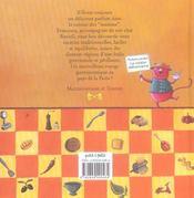 Les pâtes de Francesca - 4ème de couverture - Format classique