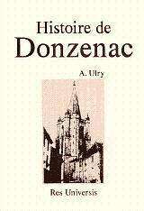 Donzenac (Histoire De) - Couverture - Format classique