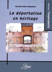 La déportation en héritage - Intérieur - Format classique