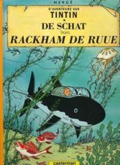 Les Aventures De Tintin ; D'Avonteure Van Tintin T.12 ; De Schat Van Rackham De Ruue - Couverture - Format classique