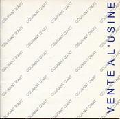 ART CONTEMPORAIN. VENTE A L'USINE EPHEMERE. [HADJADJ. PERSON. WILSON. LEBRETON. FAVRE. GIOVANGIGLI. BARACHIN. GRAY. LORAY. MACKENDREE. BLANCHARD. LARUS. ALBEROLA]. 16/06/1988. (Poids de 97 grammes) - Couverture - Format classique