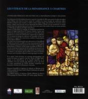 Les vitraux de la Renaissance à Chartres - 4ème de couverture - Format classique