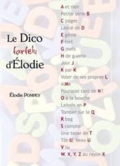 Le dico farfelu d'Elodie - Couverture - Format classique