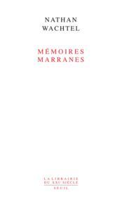 Mémoires marranes - Couverture - Format classique