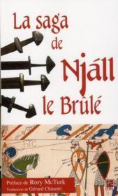 La saga de Njáll le brûlé - Couverture - Format classique