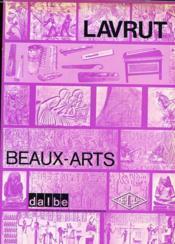 Catalogue - Lavrut Beaux-Arts - Couverture - Format classique
