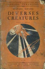 Diverses Creatures. - Couverture - Format classique