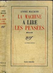 La Machine A Lire Les Pensees - Couverture - Format classique