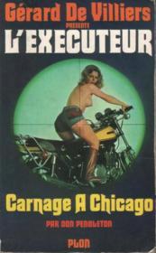 L'exécuteur n° 8 Carnage à Chicago - Couverture - Format classique