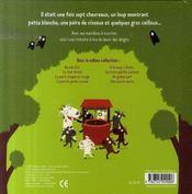 Le loup et les sept chevreaux - 4ème de couverture - Format classique