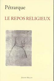 Le repos religieux - Intérieur - Format classique
