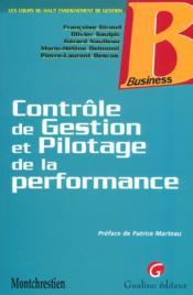 Controle de gestion - Couverture - Format classique