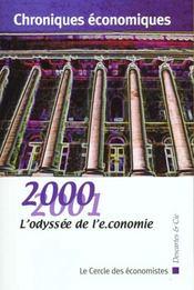 Chroniques Economiques 2000 ; Espoirs Et Risques De La Nouvelle Economie - Intérieur - Format classique