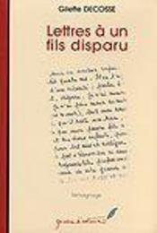 Lettres à un fils disparu - Intérieur - Format classique