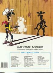 Lucky Luke T.59 ; le pony express - 4ème de couverture - Format classique