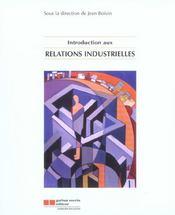 Introduction Aux Relations Industrielles - Intérieur - Format classique