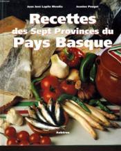 Recettes des sept provinces du pays basque - Couverture - Format classique