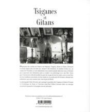 Tsiganes et gitans - 4ème de couverture - Format classique