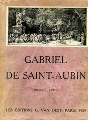 Gabriel de Saint-Aubin, peintre, dessinateur et graveur (1724-1780). - Intérieur - Format classique