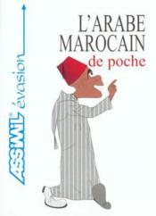 Guide Poche Arabe Marocain - Couverture - Format classique