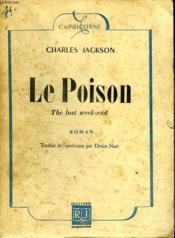 Le Poison. - Couverture - Format classique